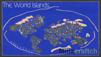 The World Islands - Alleron City [1.16.5]