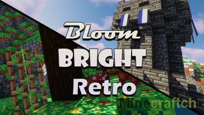 Bloom, Bright and Retro Resource Pack [1.16.5] [1.15.2]