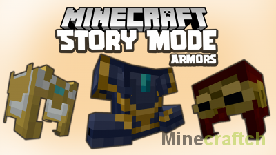MC Story Mode Armors Mod [1.16.5]