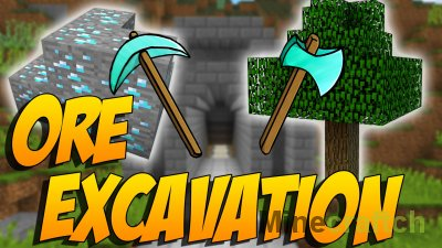 Ore Excavation Mod [1.16.5] [1.15.2] [1.14.4] [1.13.2] [1.12.2] [1.11.2] [1.10.2] [1.7.10]