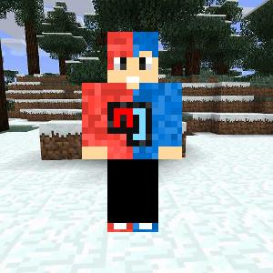 Cool Red-Blue Skin